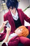 Fushimi and Misaki by bellatrixaiden