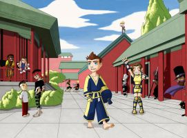Wushu Academy: The New Kid by NickAlmand