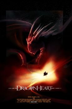 Dragonheart Poster Painting by lord-phillock
