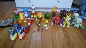 Digimon Toy Collection by RyuuseiSoul