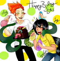 Happy late B-day Syas by Jennycah
