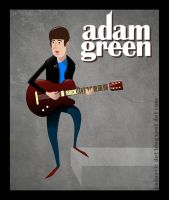 Adam Green Vector by kfeeras