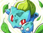 BULBASAUR used RAZOR LEAF by unbadger