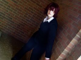 Baccano - Ennis ,  Over there? by hiddentalent1