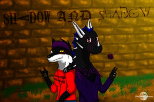 Shadow And Shadow by ShadowXEyenoom