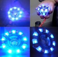 Iron Man Arc Reactor Complete by ritter99