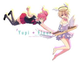 AT: Yupi and Flour by demitasse-lover