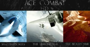Ace Combat Poster by UbuMachine