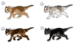 CLOSED Cheap Thylacine Adopts by Shiny-Dot-Adopts