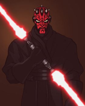 Darth Maul by grantgoboom