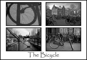Amsterdam - Bicycle Collage by JDOPhoto