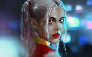 Sad Harley by DinaKononova