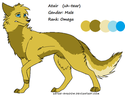 Atair Reference sheet by Hyperactive-Blue