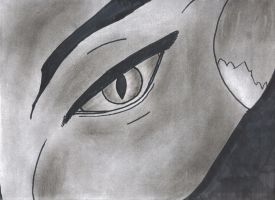 Eye of the tiger..no.. Panther by noirtatsu