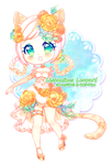 [24 hours left!] Lisianthus Leopard [Collab] by SmexyViButt