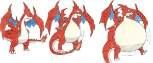 Request: Charizard Y inflation by eternalJonathan