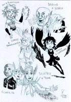 AATR 3 sketchs by Lethao