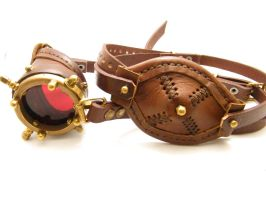 Steampunk Monogoggle 7 by AmbassadorMann