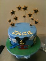 Mickey's Clubhouse Cake by Spudnuts