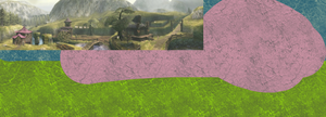 Project Hylian Abstract 44: Ordon Village by scriptureofthescribe