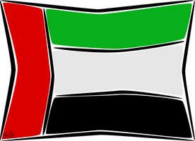 UAE flag by iAiisha