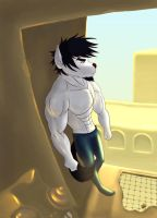 Art trade with Contego by Barzona