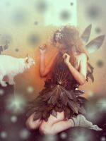 Fairy and Cat Squirrel by foux86