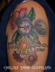 Life - upper arm tatto by Chelsea-C