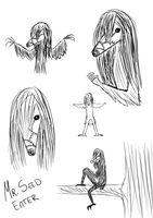 Seed Eater doodles by Lutrasauro