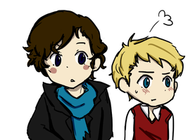 johnlock ewe by xXStraberryJellyXx