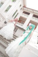 Vocaloid Wedding - Miku Luka by Xeno-Photography
