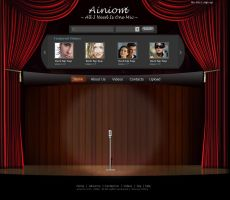Ainiom video site by BishanR