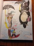 Discord Poppins Vs. Totoro Poppins by Hazeltail55