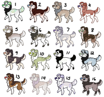 25 Point Mystery Dog Adopts 3 - CLOSED by Railguns