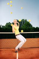 funny tennis by FearAndMe
