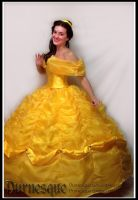 Tale as Old as Time: Belle's Ballgown by Durnesque