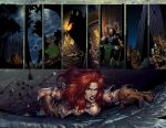 Queen Sonja Page 8-9 colors by dylanliwanag