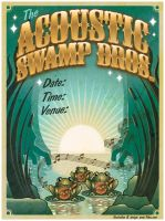 Acoustic Swamp Brothers poster by cheerful-cherub