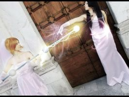 Lightning and love. Nami and Boa wedding cosplay. by Mellorineeee