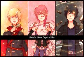 Fabula Nova Crystallis Trio by CafeArtist101