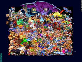 Fighting Game Sprites Mayhem by TheALVINtaker