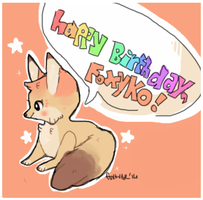 Happy Birthday, Foxyko! by foxtribe