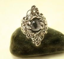 Gothic Evil Eye Ring by byrdldy