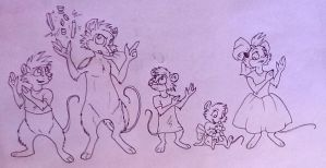 Brisby Family Training by TheBattyCrow