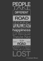 People Take Different Road by MynameisBlaze