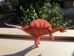 Spinosaurus in the sun by Orestigami