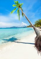 Tropical beach Malcapuya by MotHaiBaPhoto