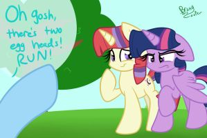 Eggheads have been doubled by BronyCooper