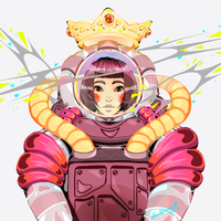 Spaced out by VanileCream