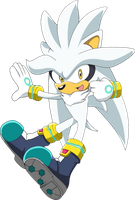 Silver the Hedgehog by SiIent-AngeI
